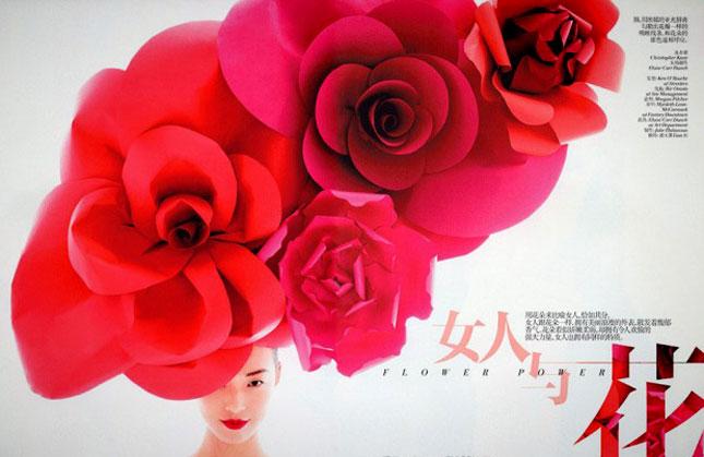 Paper Flower Headpiece - Eloise Corr Danch