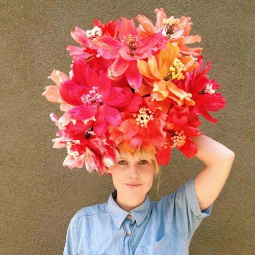 Paper Flower Headpiece - Brittany Watson